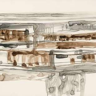 Stark Neutrals II Digital Print by Goldberger, Jennifer,Abstract