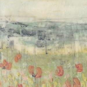 Wildflower Scape I Digital Print by Goldberger, Jennifer,Impressionism