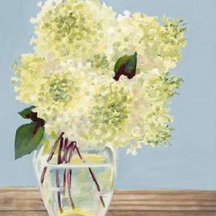 Hydrangea Vase I Digital Print by Miller, Dianne,Impressionism
