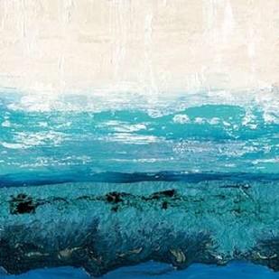Sapphire Cove I Digital Print by Ludwig, Alicia,Impressionism