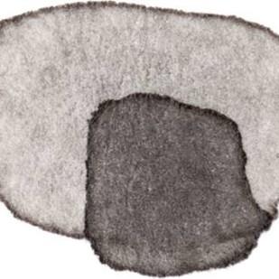 Grey Slate IV Digital Print by Galapon, Nikki,Abstract