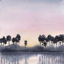 Bayside Sunset II Digital Print by Popp, Grace,Impressionism