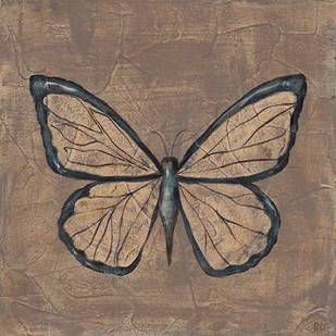 Textured Butterfly I Digital Print by Reynolds, Jade,Decorative