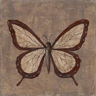 Textured Butterfly II Digital Print by Reynolds, Jade,Decorative