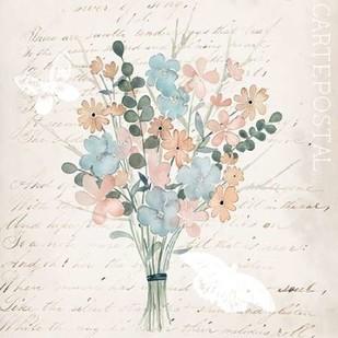Fleurs Pastel I Digital Print by Popp, Grace,Decorative