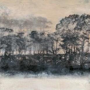 Blush Treeline I Digital Print by Goldberger, Jennifer,Impressionism
