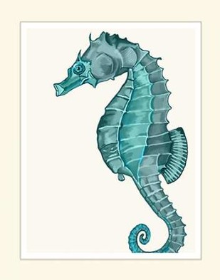 Blue Underwater Scenes 2 c Digital Print by Fab Funky,Decorative