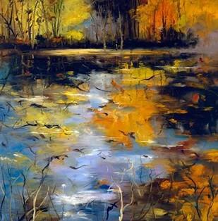 New Reflection Digital Print by Howe, Tim,Impressionism