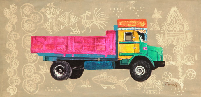 Allegory Of Rice Route By Tushar Waghela