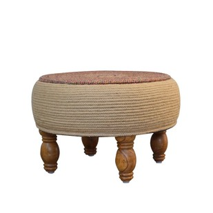 BOHO CHIC OTTOMAN Furniture By Desi Jugaad