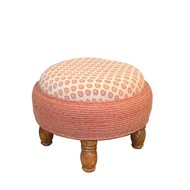 FLUSHED OTTOMAN Furniture By Desi Jugaad