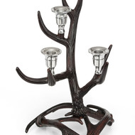 Horn candle stand 3 lights