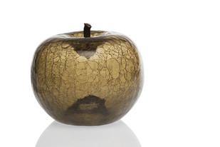 Hand Blown Art Glass Apple Smoke (Large) Artifact By CellarDoor