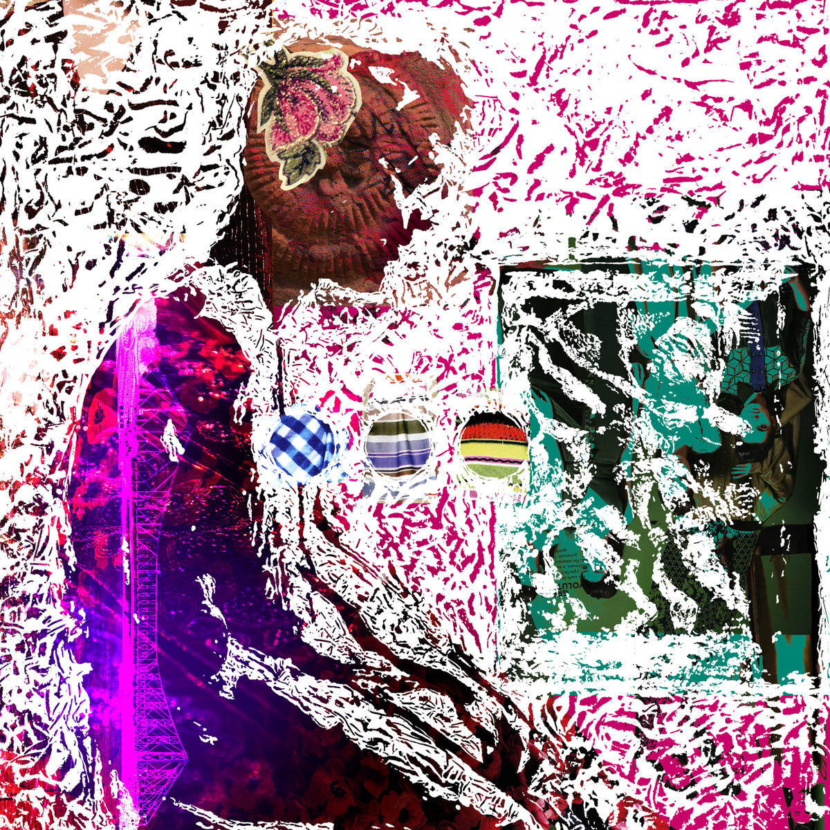 Narcissus by Sayak Mitra, Digital Digital Art, Digital Print on Archival Paper, Pink color