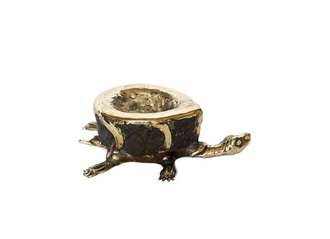 Tortoise diya Candle Stand By Devrai Art Village