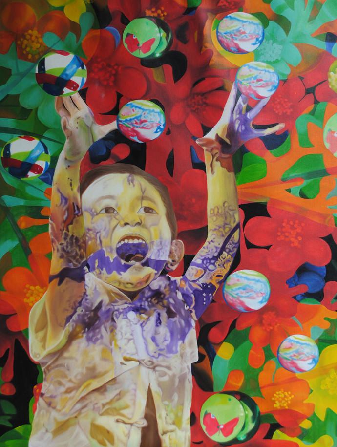 Flights of Imagination The Scream of joy by artist Shikha ...