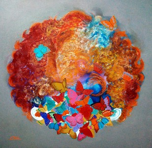 my imagined childhood Digital Print by shiv kumar soni,Expressionism