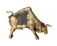 Charging bull Artifact By Devrai Art Village