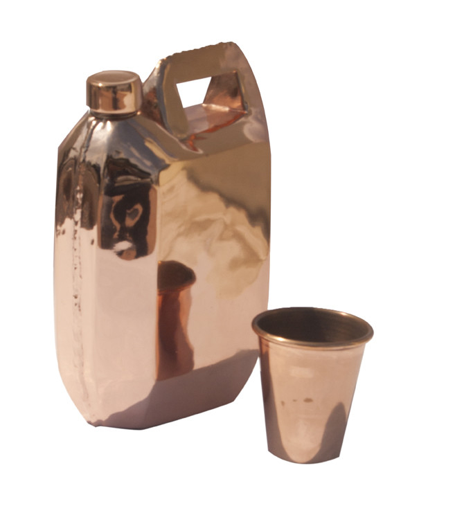 Jerrycan Water Flask Decorative Container By Cobalt Designs
