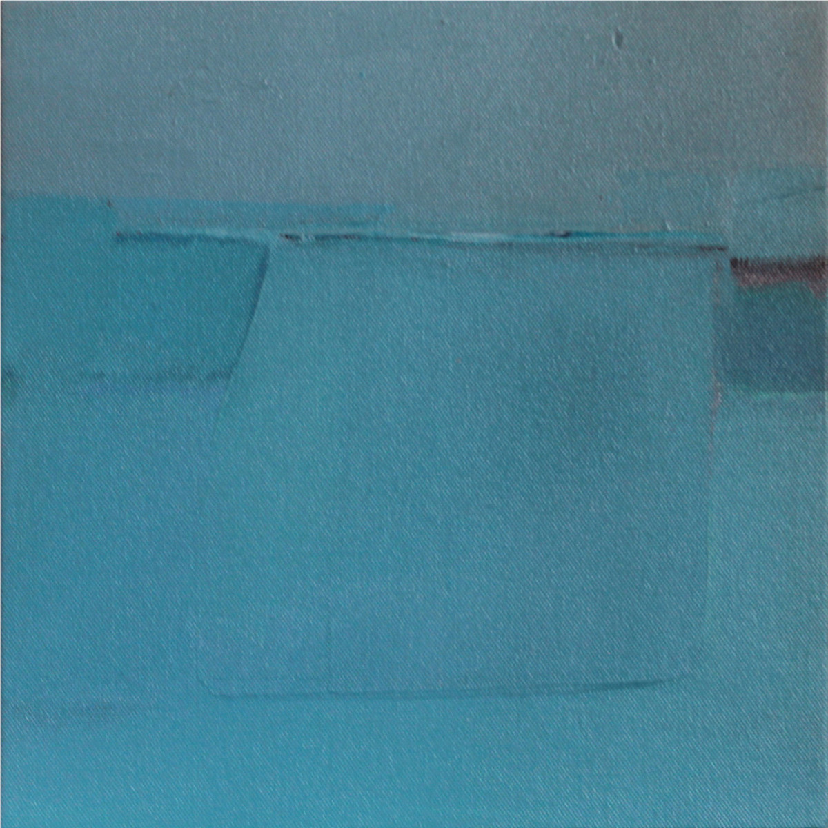 BLUE C5 by Deepak Madhukar Sonar, Abstract Painting, Acrylic on Canvas, Cyan color