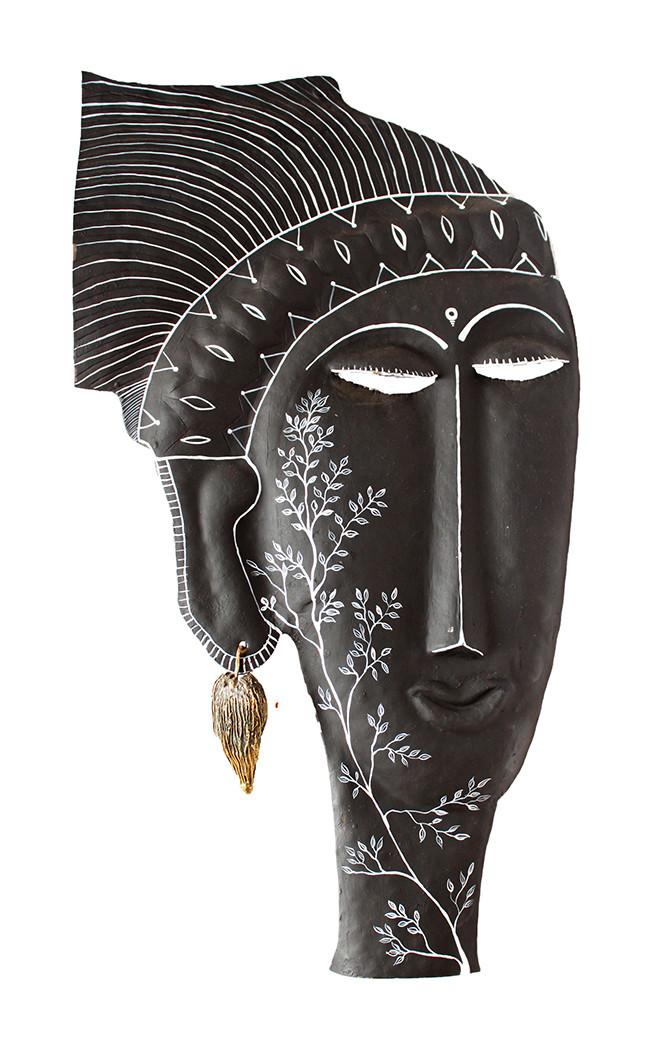 Mask Wall Decor By Devrai Art Village