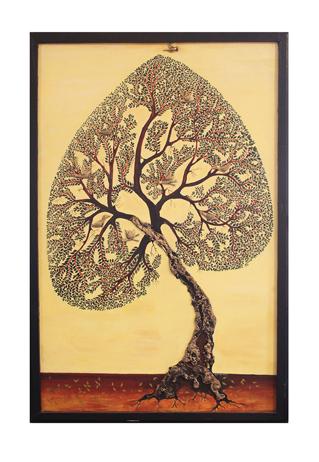 Tree Of Life Wall Decor By Devrai Art Village Mojarto