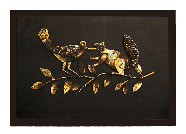 Gossip Wall Decor By Devrai Art Village