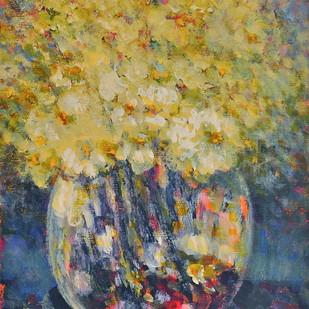 Still Life 9 Digital Print by Zargar Zahoor,Impressionism