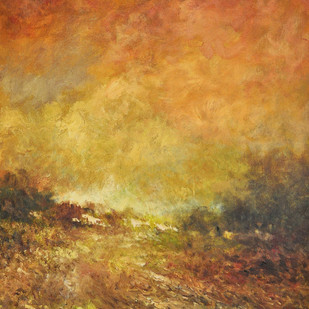 Landscape 6 Digital Print by Zargar Zahoor,Impressionism