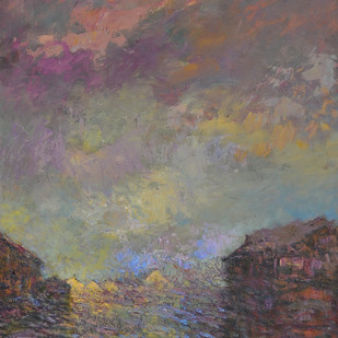 The Cottage Digital Print by Zargar Zahoor,Impressionism