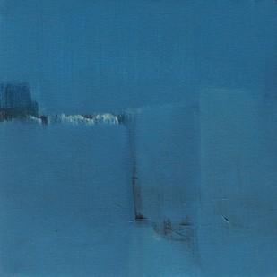 Blue 22 by Deepak Madhukar Sonar, Abstract Painting, Acrylic on Canvas, Blue color