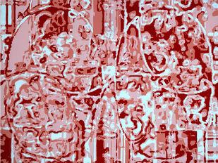 Jubilation IV by Niraja Bhuwal, Decorative Painting, Acrylic on Canvas, Beige color
