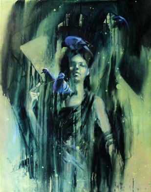 The Amodal Perception: A perfect contrast Digital Print by Raj Maji,Fantasy