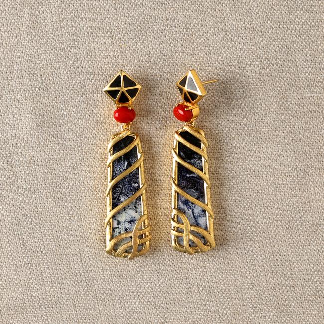 Polyp by Miranika, Art Jewellery Earring