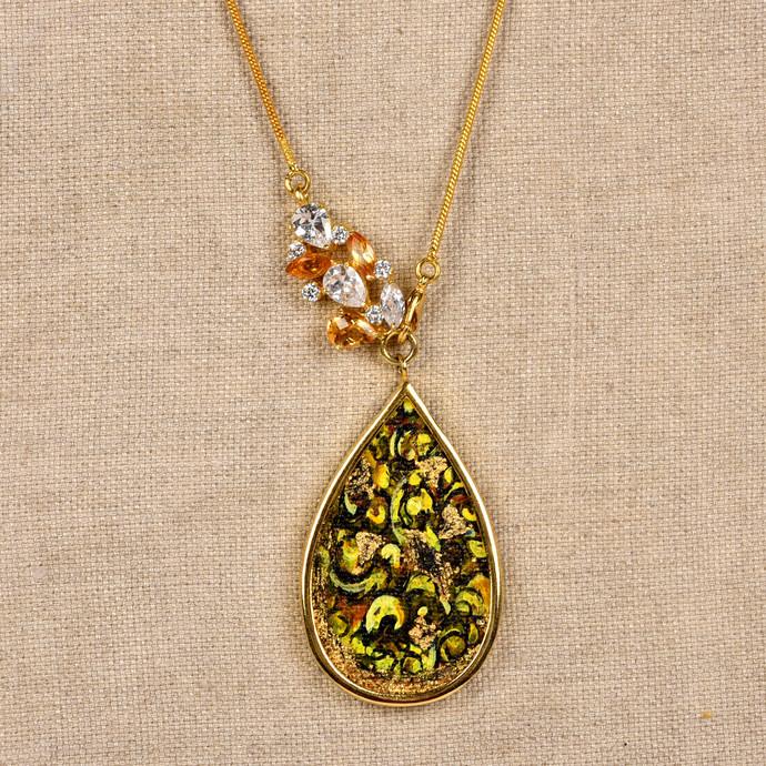 Bouquet by Miranika, Art Jewellery Necklace