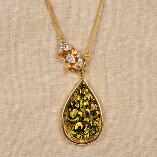 Bouquet by Miranika, Art Jewellery Necklace
