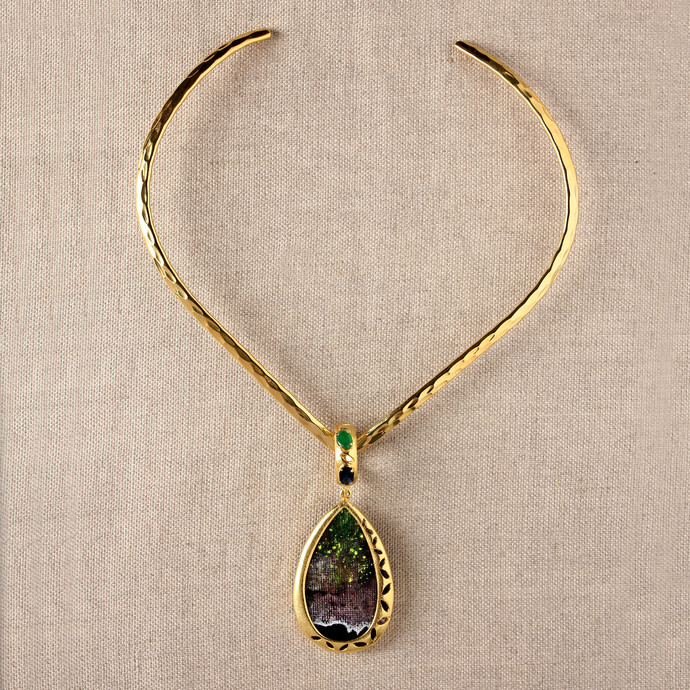 Brace by Miranika, Contemporary Necklace