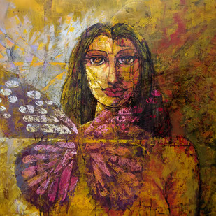 In depth from Mind Digital Print by Ram Thorat,Expressionism