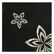 Black Marble Tabletop, Square Furniture By Carved Additions