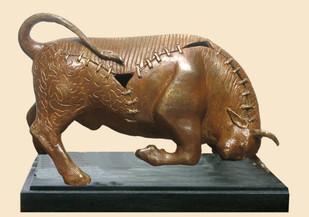 BULL Artwork By Subrata Paul