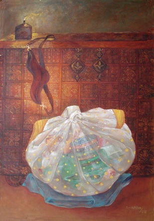 untitled 968 Artwork By Sharda Patel