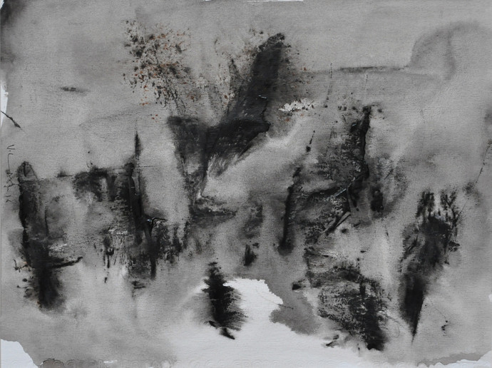 10 Black And White Abstract Art Paintings That You Ll Love