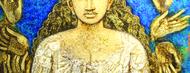 Artist    manus ranjan jaina  age 50 year  odissa   acrylic on canvas   size 33x45 inches   prize 65 000