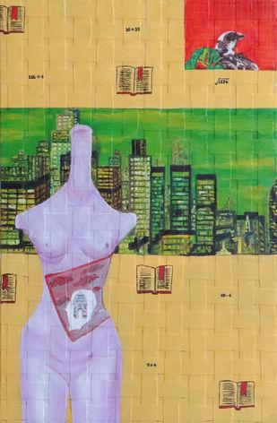 CITY OF SILK Digital Print by riddhima sharraf,Fantasy