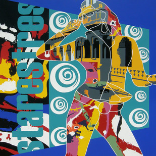 Hording Digital Print by Sanjay Verma,Pop Art