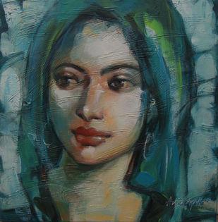 Expression Series Artwork By Anindya Mukherjee