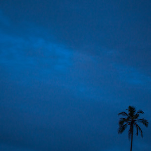 The Blue Hour by Siddhant, Image Photography, Digital Print on Paper, Blue color