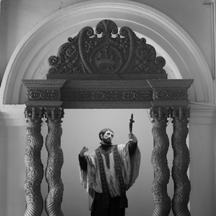 The Lord by Siddhant, Image Photography, Digital Print on Paper, Gray color