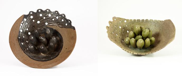 Untitled by Milan SIngh, Decorative Sculpture   3D, Ceramic, White color