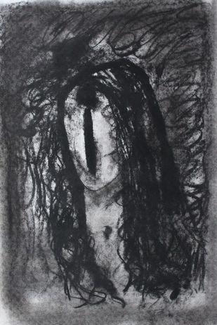 Woman Artwork By Sanjay Kumar Singh
